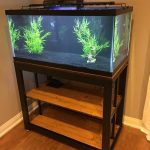metal fish tank stand