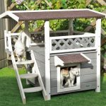 cat houses with stairs